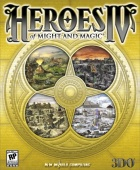 Biblioteka Gier | Heroes of Might & Magic IV | screen okładki